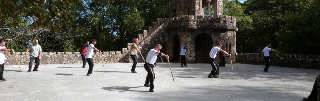 jogo do pau portugues treino quinta da regaleira